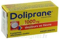 DOLIPRANE 1000 mg Comprimés effervescents sécables T/8 à Ploermel
