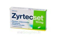 ZYRTECSET 10 mg, comprimé pelliculé sécable à Ploermel