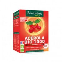 Santarome Bio Acérola 1000 Comprimés à croquer 2T/10 à Ploermel