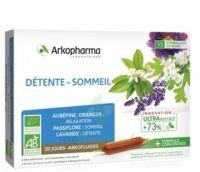 Arkofluide Bio Ultraextract Solution buvable détente sommeil 20 Ampoules/10ml à Ploermel
