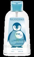ABCDerm H2O Solution sans rinçage nettoyante bébé Fl pompe/1L à Ploermel