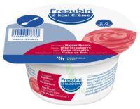 Fresubin 2kcal Crème sans lactose Nutriment fraise des bois 4 Pots/200g à Ploermel