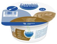 Fresubin 2kcal Crème sans lactose Nutriment cappuccino 4 Pots/200g à Ploermel