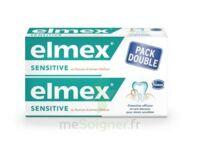 ELMEX SENSITIVE DENTIFRICE, tube 75 ml, pack 2 à Ploermel