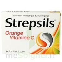 STREPSILS ORANGE VITAMINE C, pastille à Ploermel