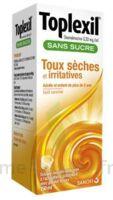 TOPLEXIL 0,33 mg/ml sans sucre solution buvable 150ml à Ploermel