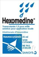 HEXOMEDINE TRANSCUTANEE 1,5 POUR MILLE, solution pour application locale à Ploermel
