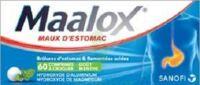 MAALOX HYDROXYDE D'ALUMINIUM/HYDROXYDE DE MAGNESIUM 400 mg/400 mg Cpr à croquer maux d'estomac Plq/60 à Ploermel