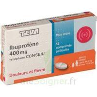 IBUPROFENE TEVA CONSEIL 400 mg, comprimé pelliculé à Ploermel