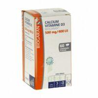 CALCIUM VITAMINE D3 BIOGARAN 500 mg/400 UI, comprimé à sucer à Ploermel