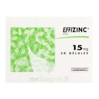 EFFIZINC 15 mg Gél Plq/30 à Ploermel