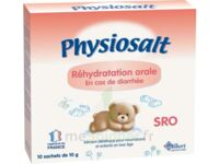 PHYSIOSALT REHYDRATATION ORALE SRO, bt 10 à Ploermel