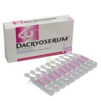 DACRYOSERUM Solution pour lavage ophtalmique en récipient unidose 20Unidoses/5ml à Ploermel