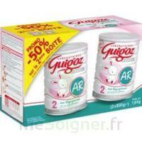GUIGOZ LAIT EXPERT AR2 LOT DE 2X800GR à Ploermel