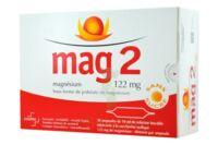 MAG 2 122 mg S buv en ampoule sans sucre édulcoré à la saccharine sodique 30Amp/10ml à Ploermel