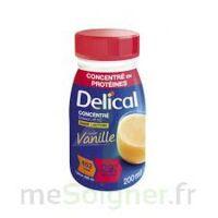 DELICAL BOISSON HP HC CONCENTREE Nutriment vanille 4Bouteilles/200ml à Ploermel