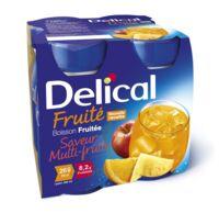 DELICAL BOISSON FRUITEE Nutriment multi fruits 4Bouteilles/200ml à Ploermel