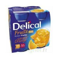 DELICAL BOISSON FRUITEE Nutriment orange 4Bouteilles/200ml à Ploermel