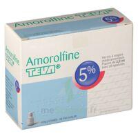 AMOROLFINE TEVA 5 % Vernis ongl médic médicamenteux 1Fl ver/2,5ml+spat à Ploermel