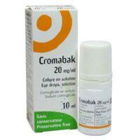 CROMABAK 20 mg/ml, collyre en solution à Ploermel