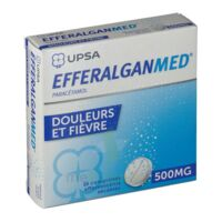 EFFERALGANMED 500 mg, comprimé effervescent sécable à Ploermel