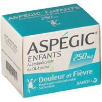 ASPEGIC ENFANTS 250, poudre pour solution buvable en sachet-dose à Ploermel