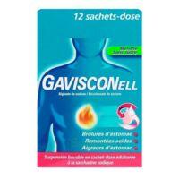 GAVISCONELL Suspension buvable sachet-dose menthe sans sucre 12Sach/10ml à Ploermel