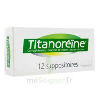 TITANOREINE Suppositoires B/12 à Ploermel