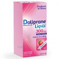 Dolipraneliquiz 300 mg Suspension buvable en sachet sans sucre édulcorée au maltitol liquide et au sorbitol B/12 à Ploermel