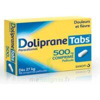 DOLIPRANETABS 500 mg Comprimés pelliculés Plq/16 à Ploermel