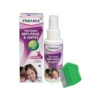 Paranix Solution antipoux Huiles essentielles 100ml+peigne à Ploermel