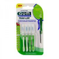 GUM TRAV - LER, 1,1 mm, manche vert , blister 4 à Ploermel