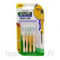 GUM TRAV - LER, 1,3 mm, manche jaune , blister 4 à Ploermel