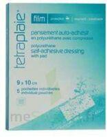 Tetraplaie Film Pansement adhésif stérile film PU 9x10cm B/5 à Ploermel
