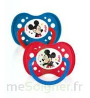 Dodie Disney sucettes silicone +18 mois Mickey Duo à Ploermel