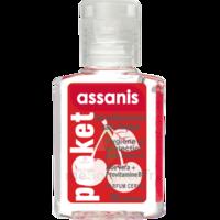 Assanis Pocket Parfumés Gel antibactérien mains cerise 20ml à Ploermel