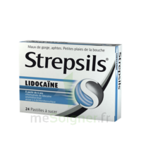 Strepsils lidocaïne Pastilles Plq/24 à Ploermel