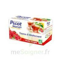 Picot Maman Tisane d'allaitement Fruits rouges 20 Sachets à Ploermel