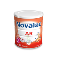 Novalac AR 2 Lait poudre antirégurgitation 2ème âge 800g à Ploermel