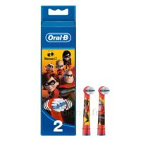 Oral B Incredibles 2 Brossette kids Blister/2 à Ploermel