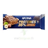 Apurna Barre hyperprotéinée crunchy chocolat noisette 45g à Ploermel