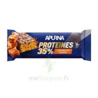Apurna Barre hyperprotéinée crunchy caramel 45g à Ploermel