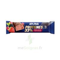 Apurna Barre hyperprotéinée moelleuse fruits rouges 45g à Ploermel