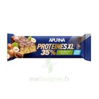 Apurna Barre hyperprotéinée XL crunchy noisette 80g à Ploermel