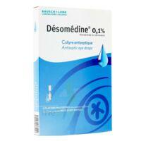 DESOMEDINE 0,1 % Collyre sol 10Fl/0,6ml à Ploermel