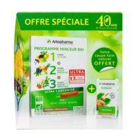 Arkofluides Programme Minceur Bio 30 ampoules/10ml + Arkogélules Konjac B/45 Offre spéciale 40 ans de santé naturelle à Ploermel